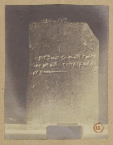 Collections du British Museum. Inscriptions assyriennes