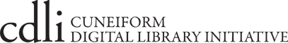 •	Cuneiform Digital Library Initiative
